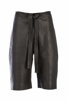 J.W.Anderson Leather Shorts