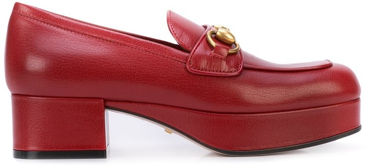 Red Leather Loafers Women | Shop the
