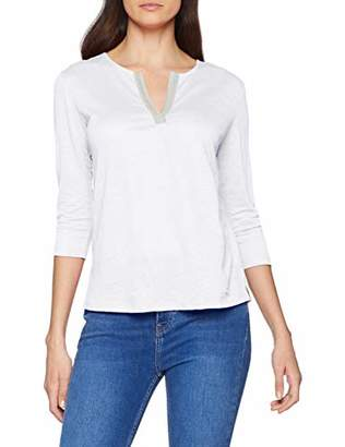 Brax Women's Carol Linen Leinenshirt uni Blouse,L(Size: 40)