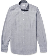 Incotex - Slim-fit Puppytooth Cotton-jacquard Shirt