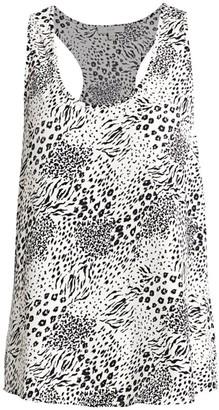 Joie Alicia Print Sleeveless Top