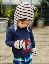 Boden Knitted Hat & Mittens Set