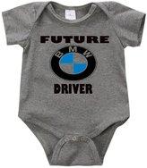 VRW Future BMW Driver- unisex Onesie Romper Bodysuit (3-6months, )