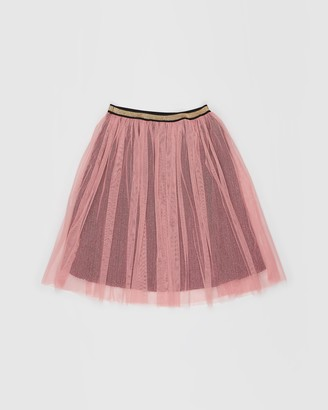 Rock Your Kid Metallic Shimmer Skirt - Kids-Teens