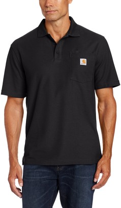 Carhartt .K570.BLK.S004 Contractor Work Pocket Polo Small