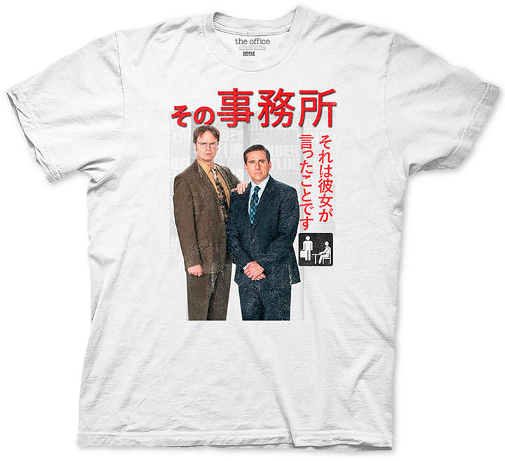 Ripple Junction Dwight and Michael Office Men Graphic T-Shirt