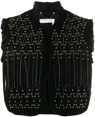 Chloé Western Style Waistcoat