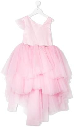 Miss Blumarine Layered Tulle Dress