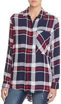 Aqua Jordan Plaid Button Down Shirt