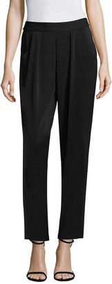 Badgley Mischka Drape Ankle Pant