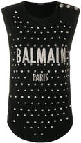 Balmain embellished T-shirt