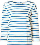YMC Breton stripe T-shirt - women - Cotton - M