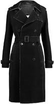 Maison Margiela Frayed textured cotton-blend trench coat