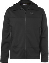 Arc'teryx - Arenite Cobblecomb Fleece-back Jersey Hooded Jacket
