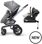 Silver Cross Surf Graphite Complete Travel System And Simplifix Base