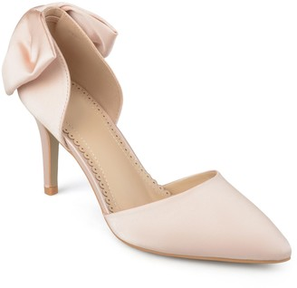 Journee Collection Tanzi D'Orsay Bow Pump