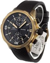IWC 'Aquatimer Chronograph' analog watch