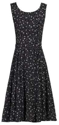 Dorothy Perkins Womens *Jolie Moi Black Star Printed Fit And Flare Dress