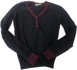 Sessun Blue Wool Knitwear