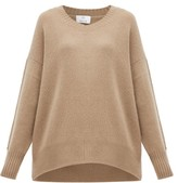 Allude Cashmere Sweater - Womens - Brown
