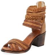 Freebird Axel Two-Piece Leather Sandal