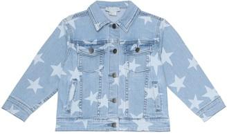Stella McCartney Star-print denim jacket