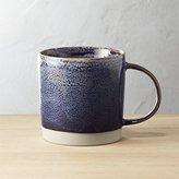 CB2 Cast Reactive Glaze Midnight Mug