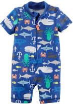 Carter's Animal One Piece Swimsuit Baby Boys