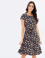 Dorothy Perkins Ditsy Short Sleeve Dress