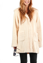 Beige Bear Maternity Coat