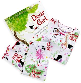 Books To Bed Little Girl's 3-Piece Dear Girl Pajama & Book Set