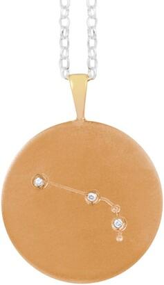 Harry Rocks Gold Aries Constellation & Diamonds Necklace