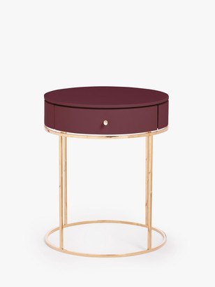 John Lewis & Partners Show Wood Bedside Table