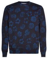 Sandro Flore Floral Sweatshirt