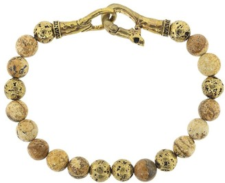 John Varvatos Distressed Bead Bracelet