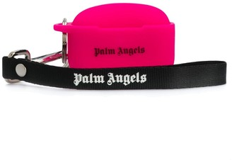 Palm Angels logo print AirPods case