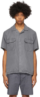Saturdays NYC Grey Gibson Double Pocket Shirt