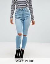Asos Ridley Full Length Jeans in Felix Wash