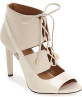 Calvin Klein 'Narea' Ghillie Peep Toe Pump (Women)