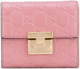 Gucci GG Signature padlock wallet - women - Calf Leather - One Size