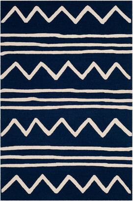 Safavieh Kids Zigzag Hand-Tufted Rug