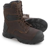 """Justin Boots Brawny Work Boots - Composite Safety Toe, Waterproof, Insulated, 8"""" (For Men)"""