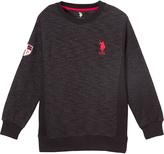 U.S. Polo Assn. Black & Red Logo Pullover - Boys