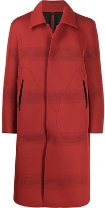 Namacheko Woven Stripe Coat