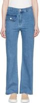 See by Chloe Indigo Denim Flared Jeans