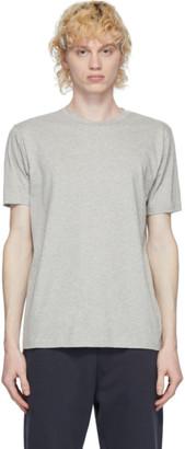 Sunspel Grey Organic Cotton Riviera T-Shirt