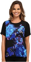 Adrianna Papell Placement Print Tee