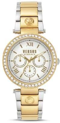 Versace Camden Market Link Bracelet Watch, 38mm