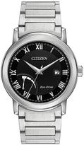 Citizen Black & Silvertone Bracelet Watch - Men