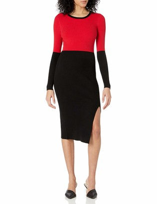 Bailey 44 Women's Long Sleeve Fitted and Sretchy Sweater Dress